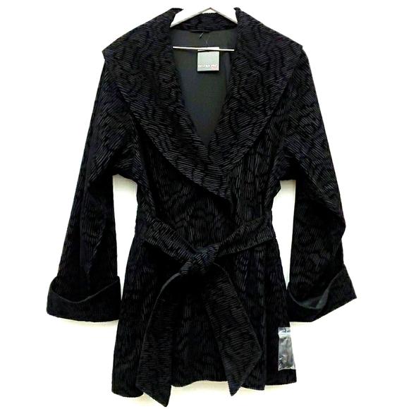 Mycra Pac Reversible Shawl Velvet Print Jacket